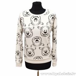 Sieviešu džemperis ar zīmējumiem