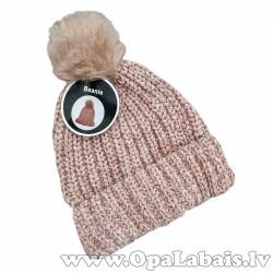 Cepure ar bumbuli, beanie (one size)