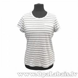 Brīvs kokvilnas t-krekls