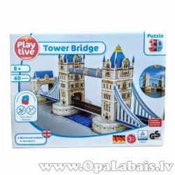 3D puzle - Tauera tilts