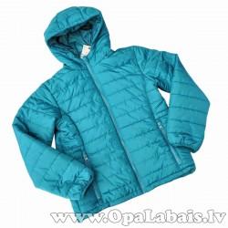 Puišu rudens jaka (tirkīzzila)