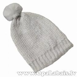 Viegli adīta rudens cepure ar bumbuli