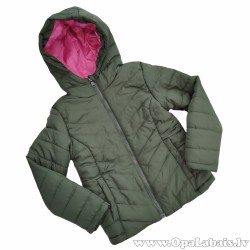Meiteņu rudens jaka ar kapuci- ūdeni...