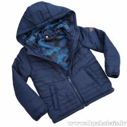 Puišu rudens jaka ar kapuci- ūdeni atgrūdoša