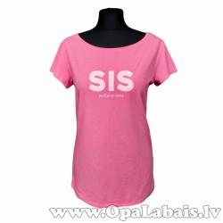 Pagarināts t-krekls SIS